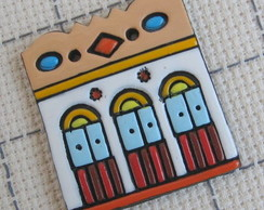 Broche Casinhas Coloniais 3