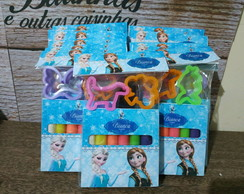 Massinha personalizada Frozen