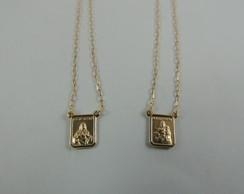 f5b17f222e3f7 ... Escapulário Em Ouro 18k 70 cm venda especial