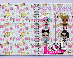 Caderno Para Colorir - Digital - LOL