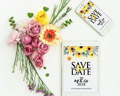 Convite / Save The Date – Arte e layout digital