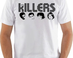 Camiseta Camisa The Killers Banda Rock Integrantes