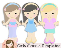 Girls Models Templates by Simone Rocha