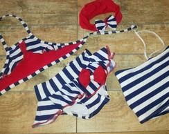 0082c0792 Kit moda praia infantil. Maiô e sunga infantil. no Elo7 | Celio ...