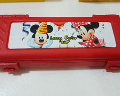 Estojo Personalizado - Mickey Minnie