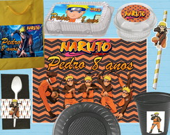Kit Festa Escolar Naruto
