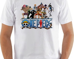 Camiseta Camisa One Piece Personagens