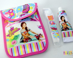 Kit Dental c/ porta escova Soy Luna