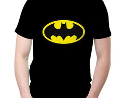 Camiseta Batman - Adulto e Infantil