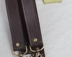 e332d6d62 alça de bolsa modelo ilhos LONGA 70 cm toda costurada no Elo7 ...