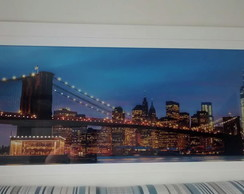 Quadro Ponte de Manhattan com cristais
