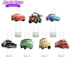 Aplique Tag Tubete - Carros Disney
