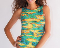 Body Animal Print Tropical Atemporall