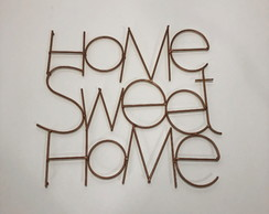 DECOR METAL HOME SWEET HOME