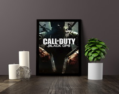 Quadro Decorativo Call of Duty Black Ops