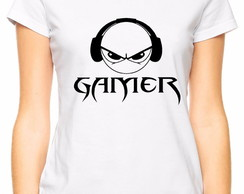 Camiseta Baby Look Gamer