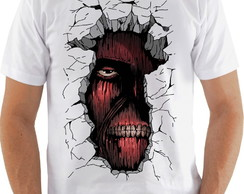 Camiseta Camisa Attack on titan