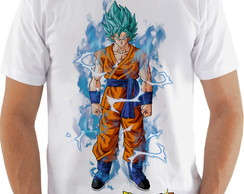 Camiseta Camisa Dragon Ball Super Saiyajin