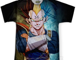Camiseta Masculina Vegeta Dragon Ball MD12