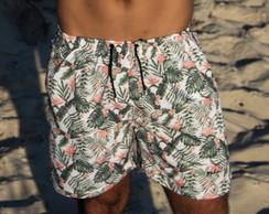 ... Short Praia Masculino Florido Mohal a4f02f55f7b6a
