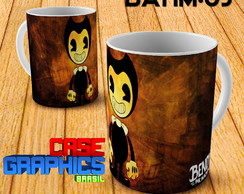 Caneca Bendy and the Ink Machine Demon Ink Boris Porcelana