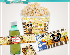 Kit Cineminha Mickey Safari