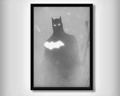 "Quadro do ""Batman"" Minimalista"