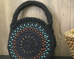 Circle bag artesanal bordada