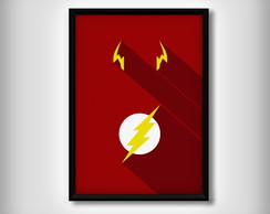 "Quadro do ""Flash"" Minimalista"