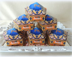 Caixa chocolate frog Harry Potter