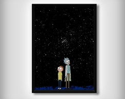 "Quadro ""Rick and Morty"""