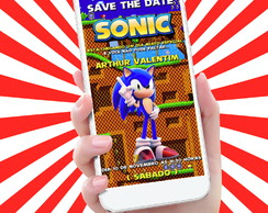 SAVE THE DATE SONIC | Salve esta Data