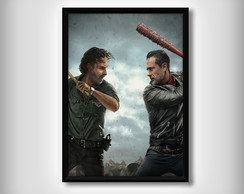 "Quadro de ""The Walking Dead"""