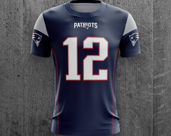 Camiseta New England Patriots NFL Futebol Americano Adulto