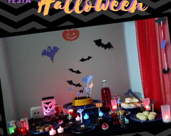 Kit festa HALLOWEEN - pronto para decorar