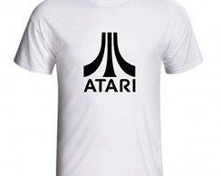 Camiseta Atari Video Game Vintage Retro