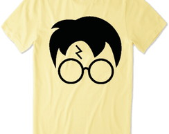 Camiseta do Harry Potter (creme) rosto do harry