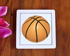 ... Placa quadrinho com tecido sublimado -bola basquete bf886a0a8b31e