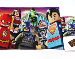 Kit lanche Escolar- Lego Batman