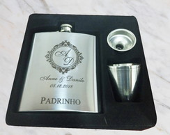 Kit Cantil Inox Personalizado 210ml