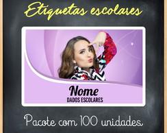 0c1e8e011d63e ... ETIQUETAS ESCOLARES - 100 UNIDADES - LARISSA MANOELA