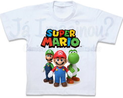 Camiseta Super Mario Bros.