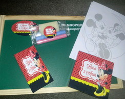 Kit lousinha Minnie