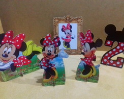 Kit Minnie Vermelha mesa mdg