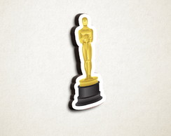 582d670e46a7f ... Aplique placa quadro - MDF e impressão cinema Oscar