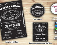 Kit Digital Chá Bar - Jack Daniels