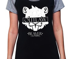BABY LOOK RAGLAN - OUTLAW