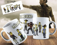 Caneca The Walking Dead Caneca Geek The Walking Dead Persona