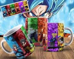 Caneca Dragon Ball Z Personalizada Caneca Geek Dragon Ball Z