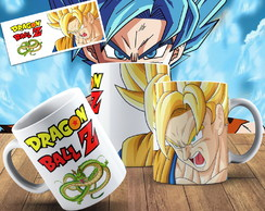 Caneca Dragon Ball Z Caneca Geek Dragon Ball Z Personalizada